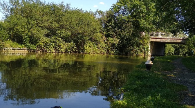 Paddling the Grand Union canal with the Itiwit kayak